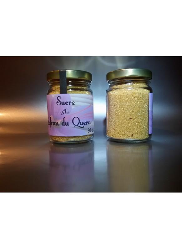 Sucre safrané - Safran d'Oc
