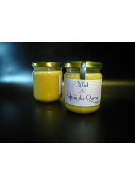 Miel au safran 250 gr - Safran d'Oc