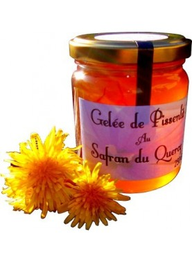 Gelée de pissenlits au safran du Quercy 250 gr