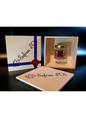 Safran coffret luxe 1 gr - Safran d'Oc