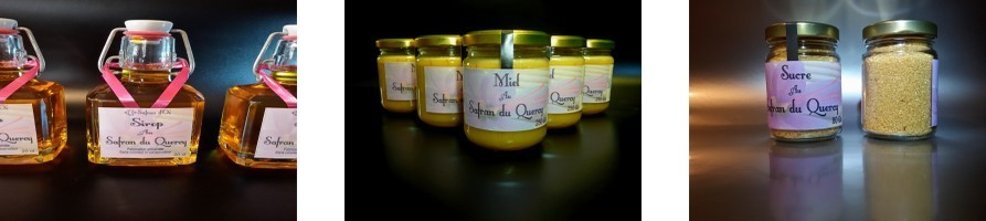 Produits safranés salés ou sucrés - Safran d'Oc